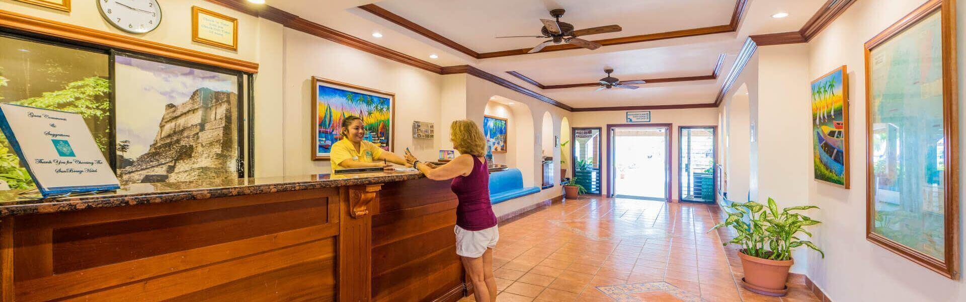 Sunbreeze hotel lobby